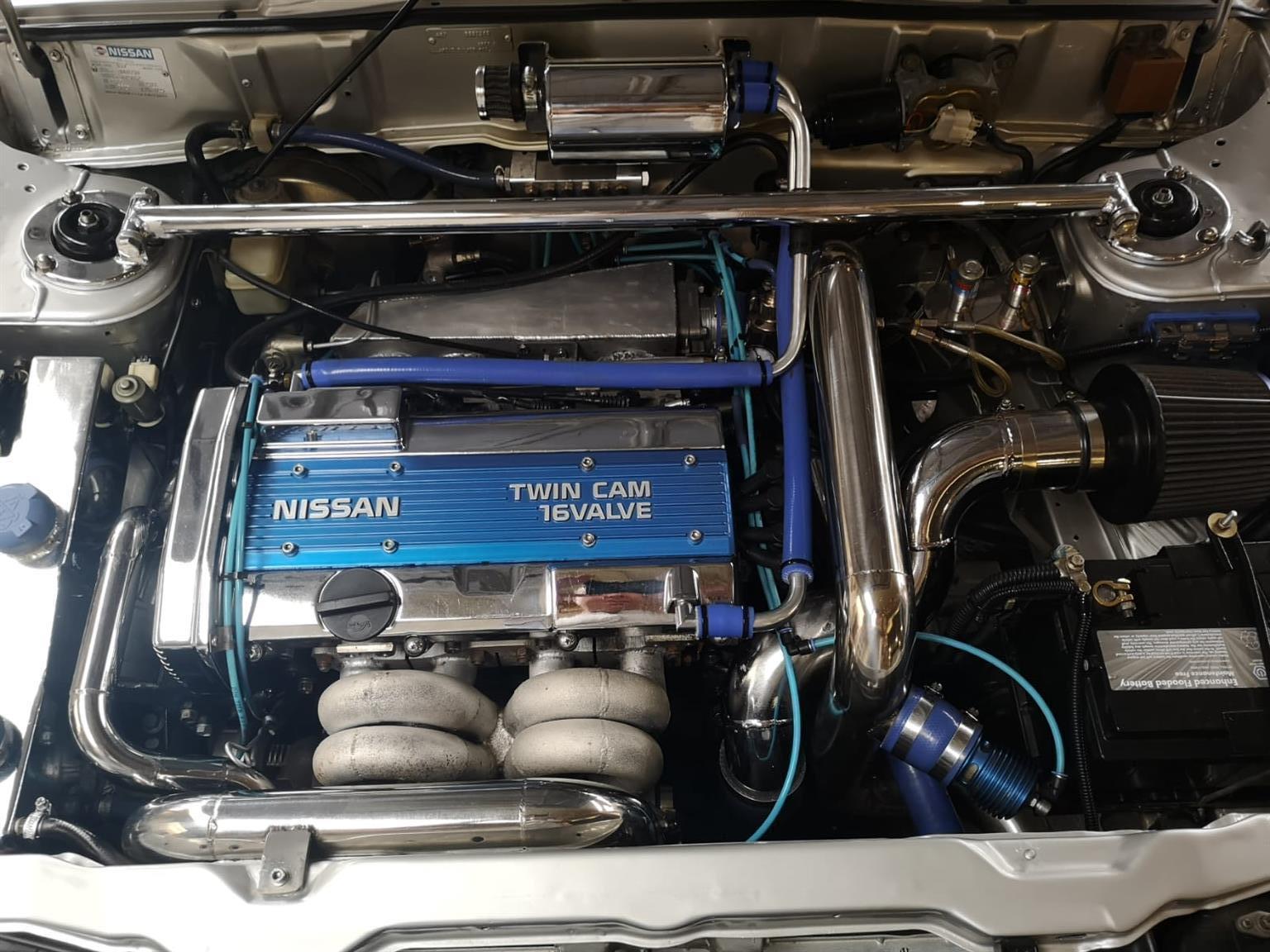 1991 Nissan Sentra Coupe CA 1.8 Turbo