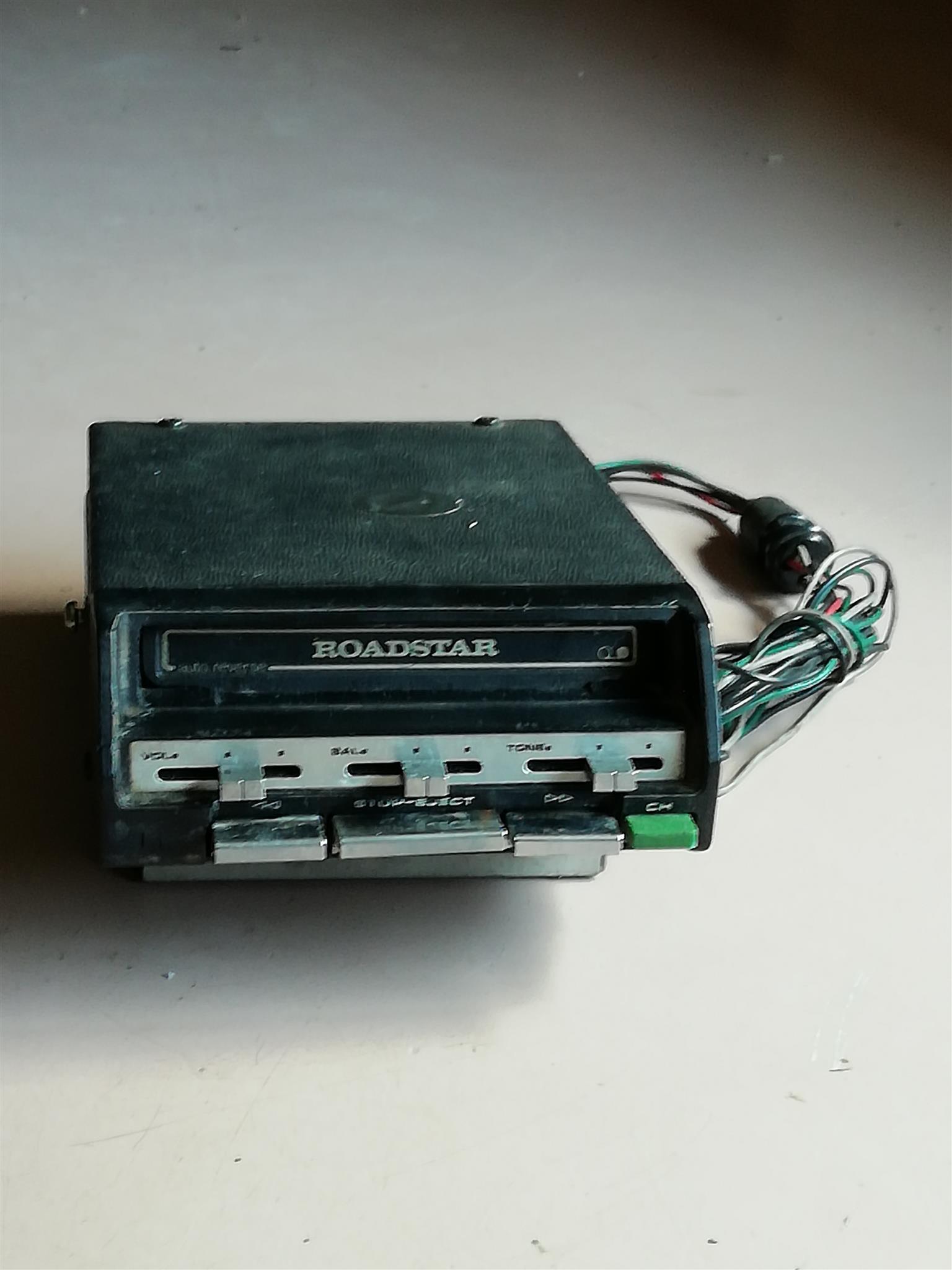 Car audio cassette player
