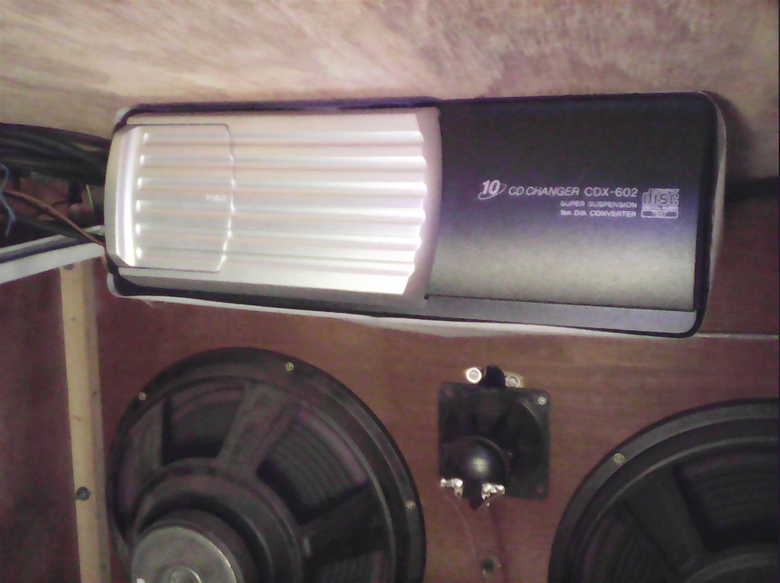 10 CD Sony Shuttle Jukebox