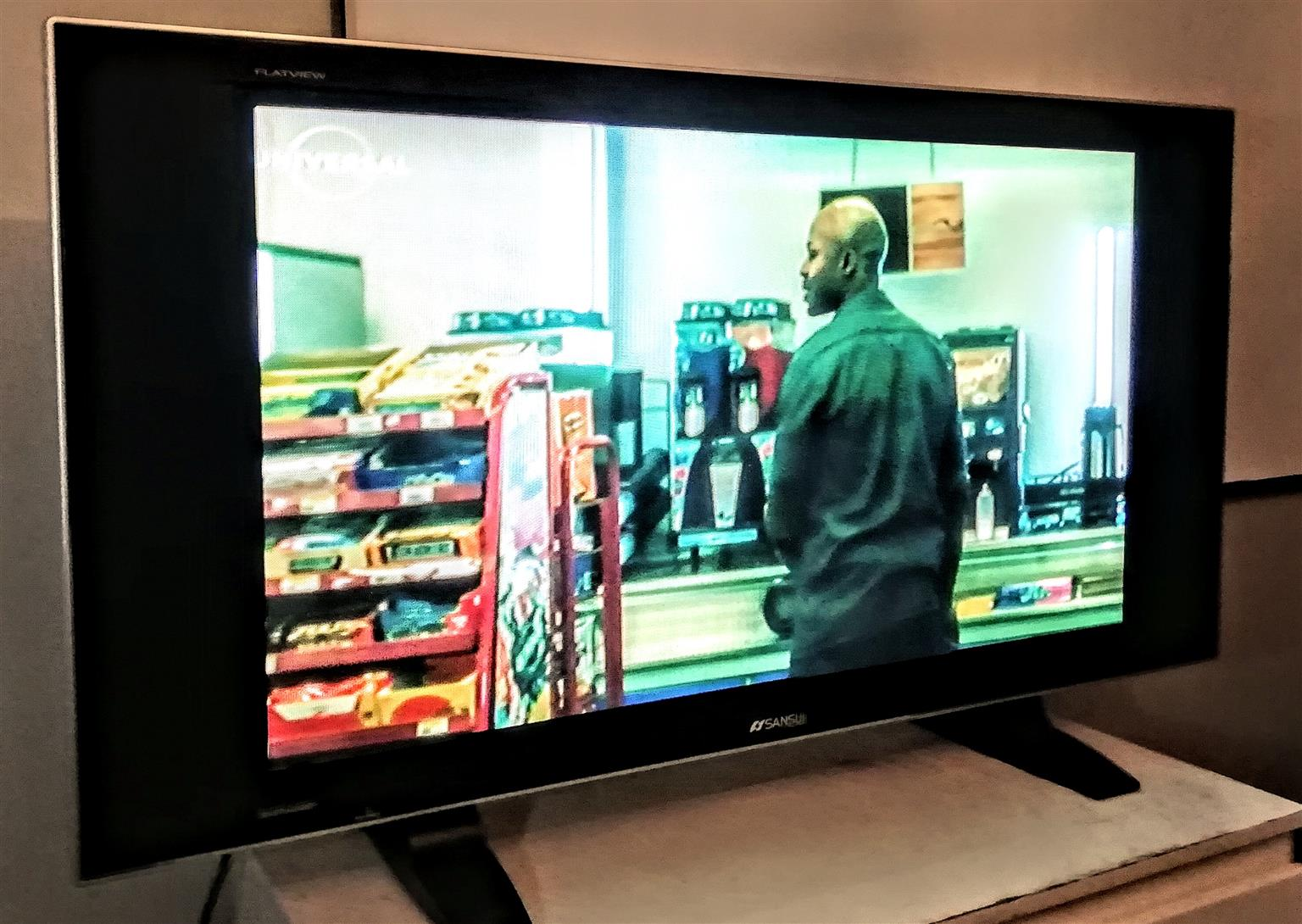 "42 inch Sansui hd plasma tv/""monitor"