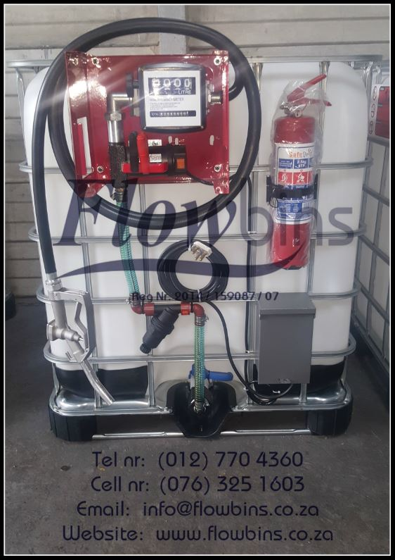 NEW 1000L Diesel / Paraffin Bowsers 12V / 220V - Bakkie Skids / Trailers from R4350