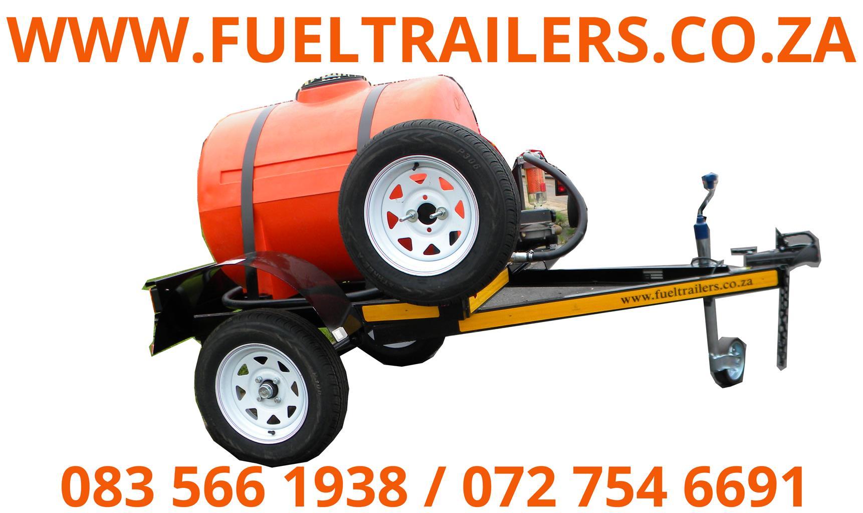 500 litre fuel tanker