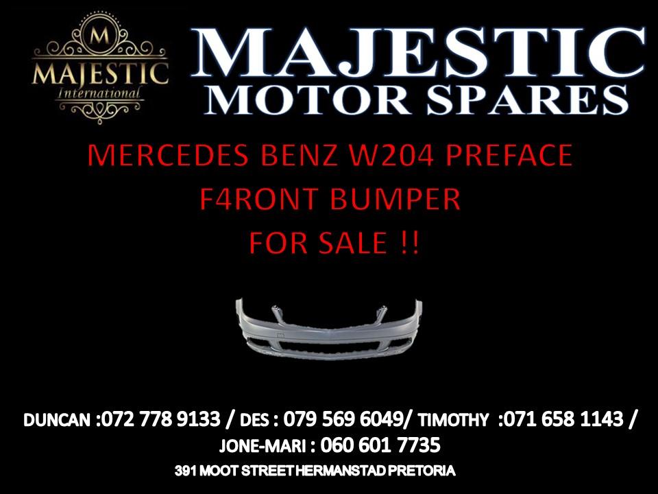 Mercedes Benz w204 pre-face front bumper