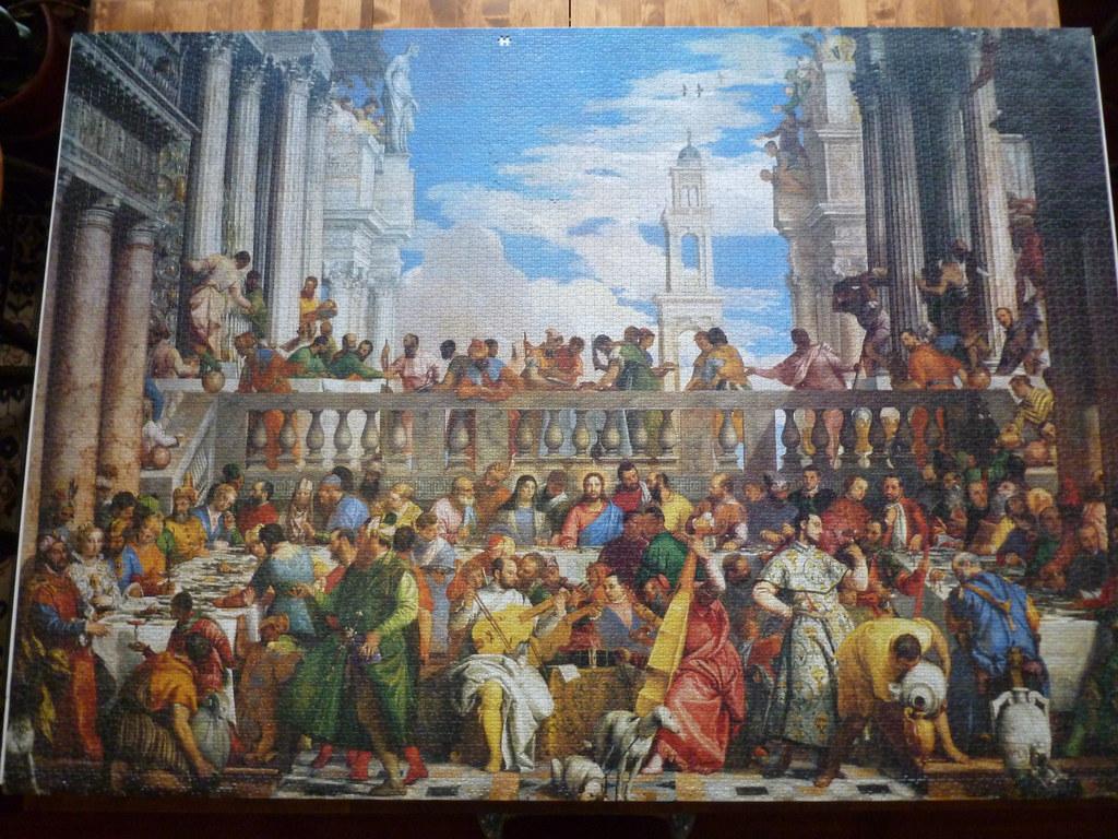 Wedding Feast At Cana.Wedding Feast At Cana 9000 Piece Puzzle