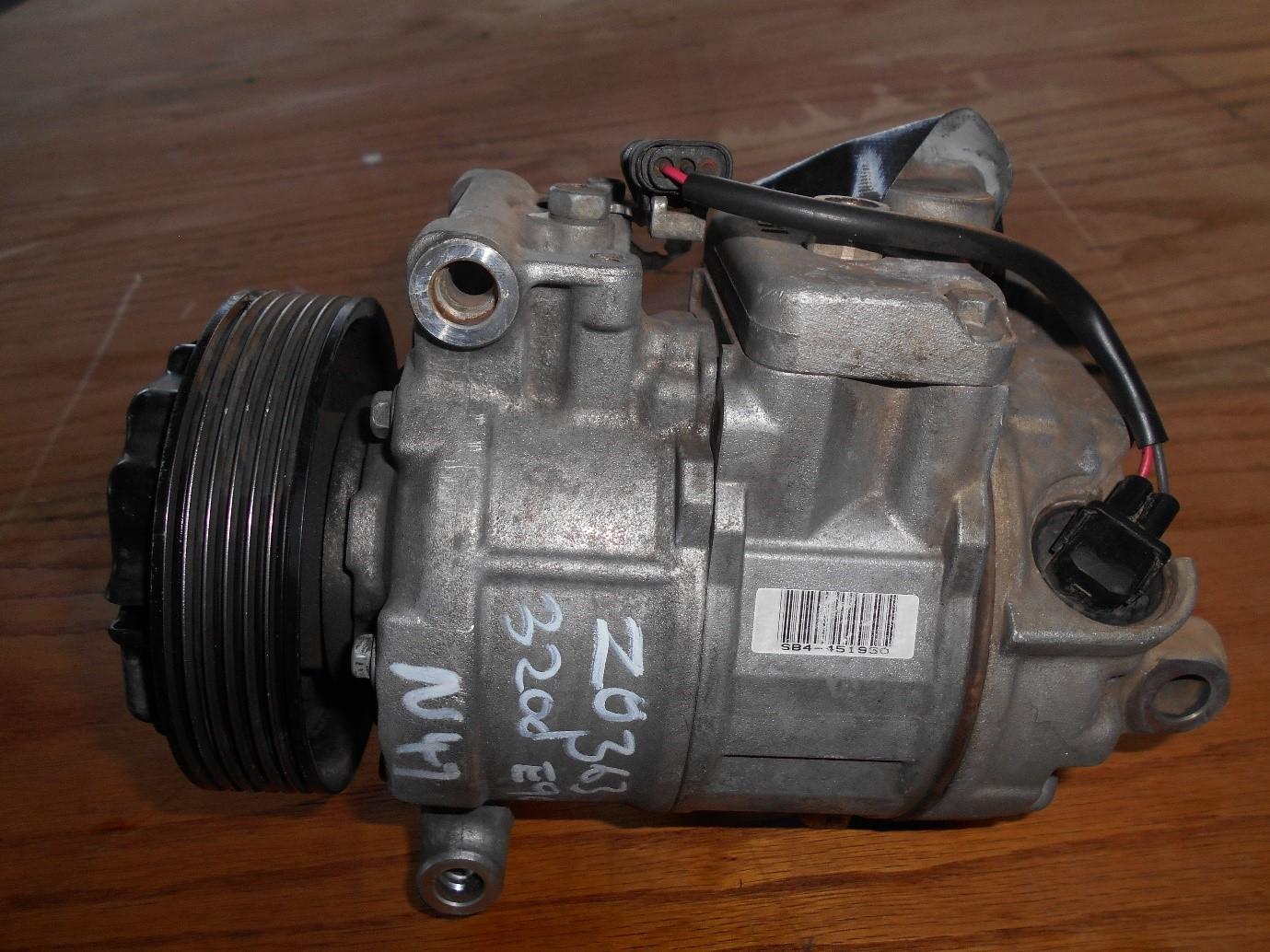 BMW 320D (2006) E90 N47 Aircon Compressor
