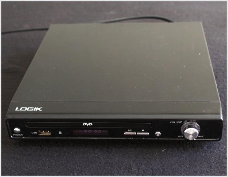 LOGIK DVD Player with USB Input