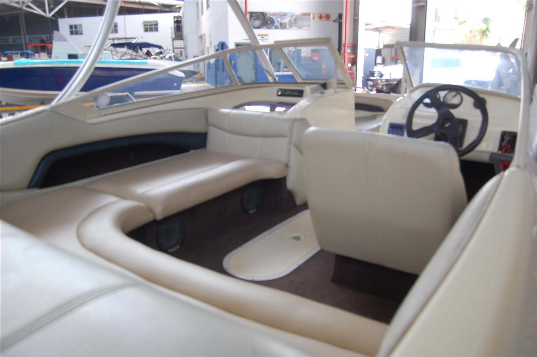 panache 1850 lx on trailer 150 hp yamaha 4 stroke