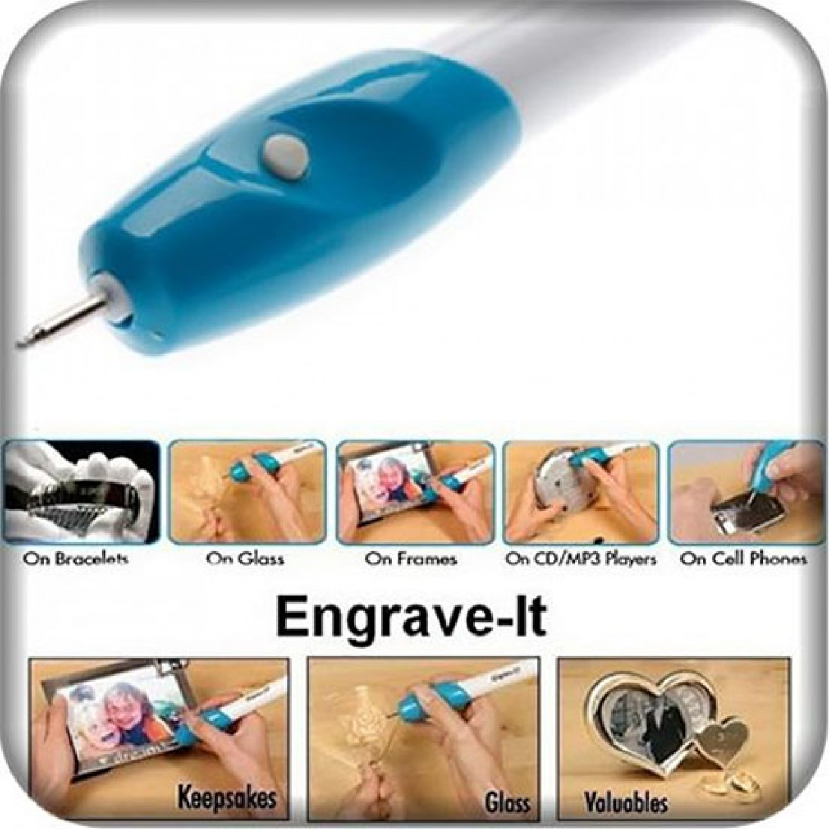 ENGRAVE-IT HANDHELD BATTERY OPERATED ENGRAVING PEN