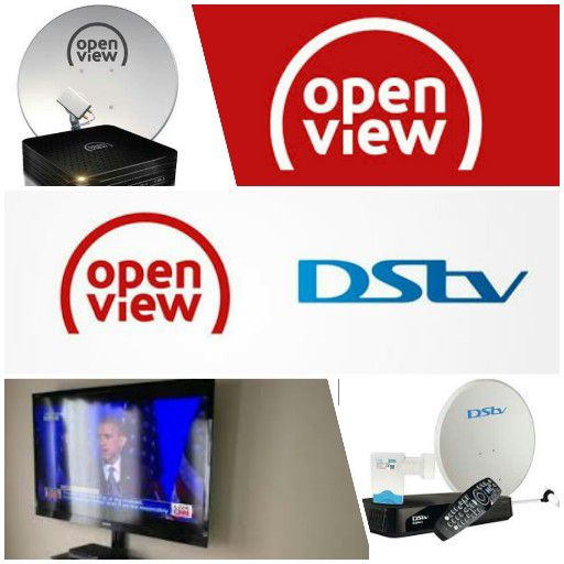 Dstv Installation,Signal Correction,l.e.d tv wall mounting,Dstv Explorer Connections