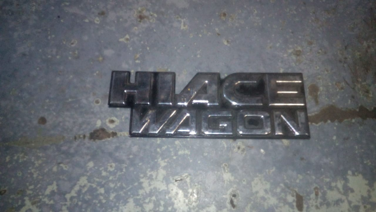 Toyota hiace badge