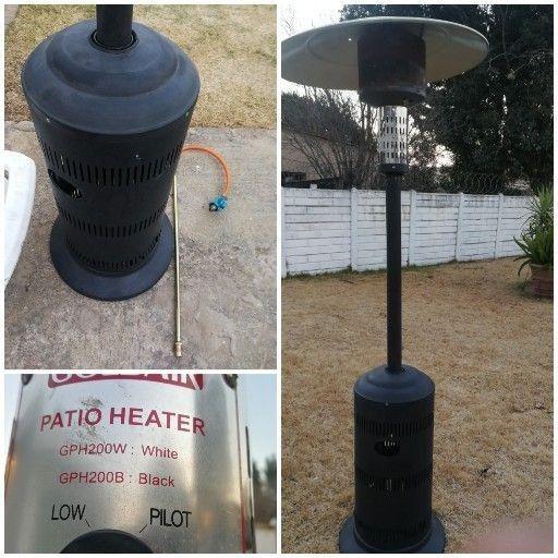 Goldair patio gas heater