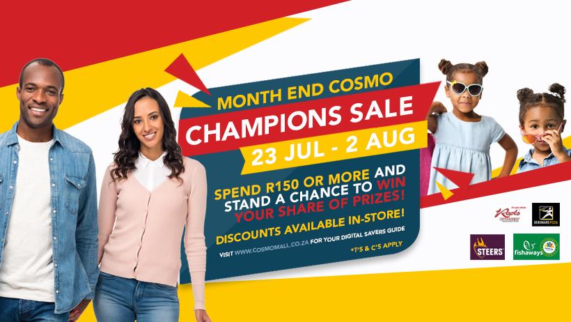 Cosmo Mall Champion Sale