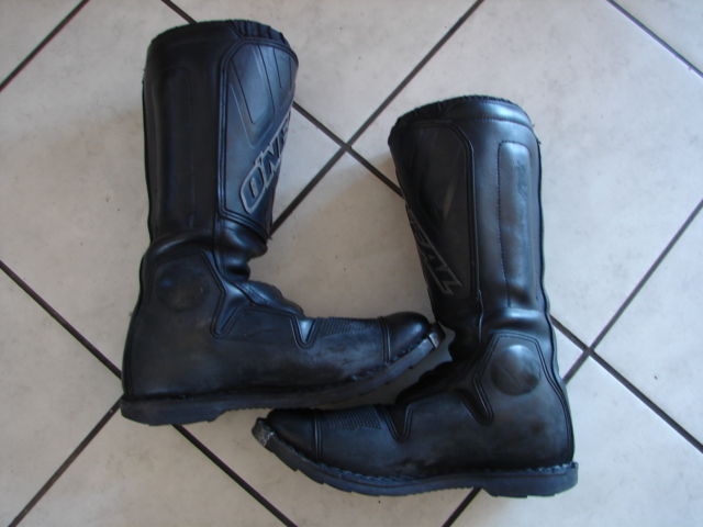 Used O'NEAL Off Road Boots size 10