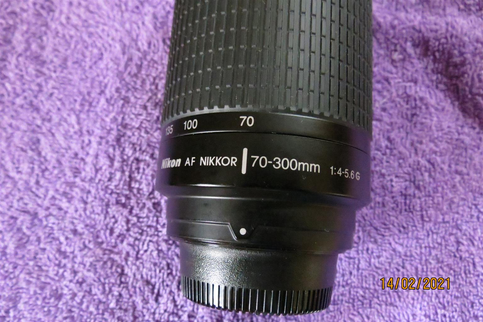 Nikon 70-300 zoom lens