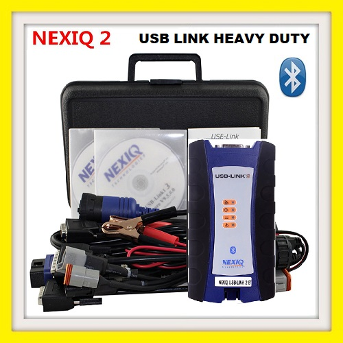 TRUCK DIAGNOSTIC machine NEXIQ-2 USB Link + Software Diesel Truck Interface and Software