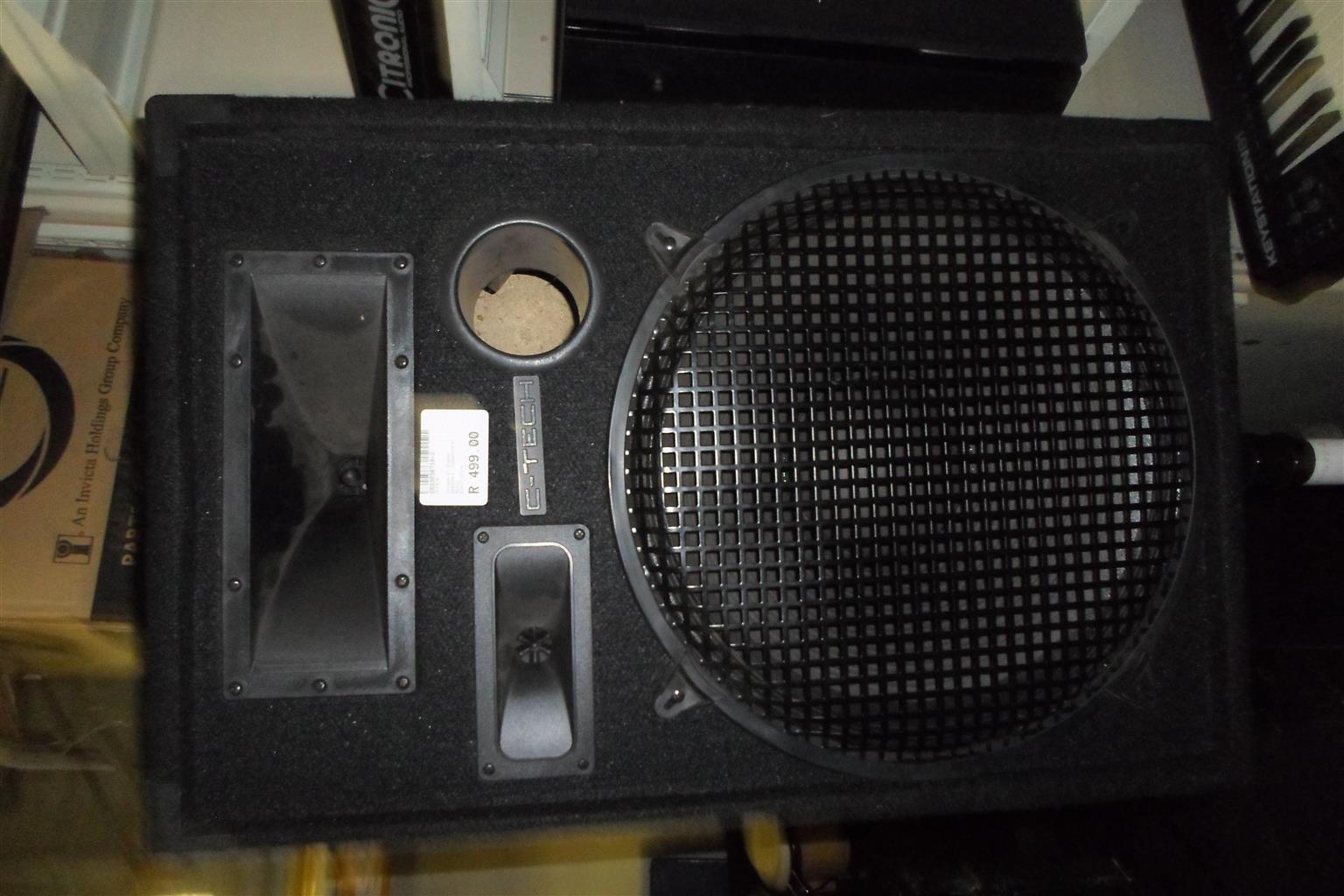 C-Tech NDE1X15 Speaker on Stand