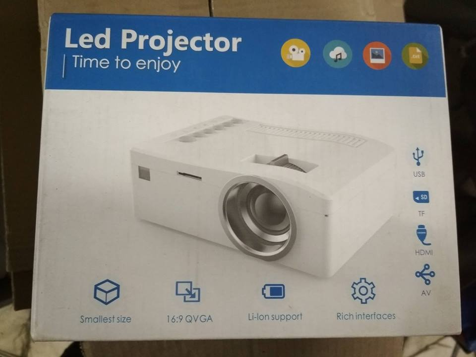 LED Projector - Brand New