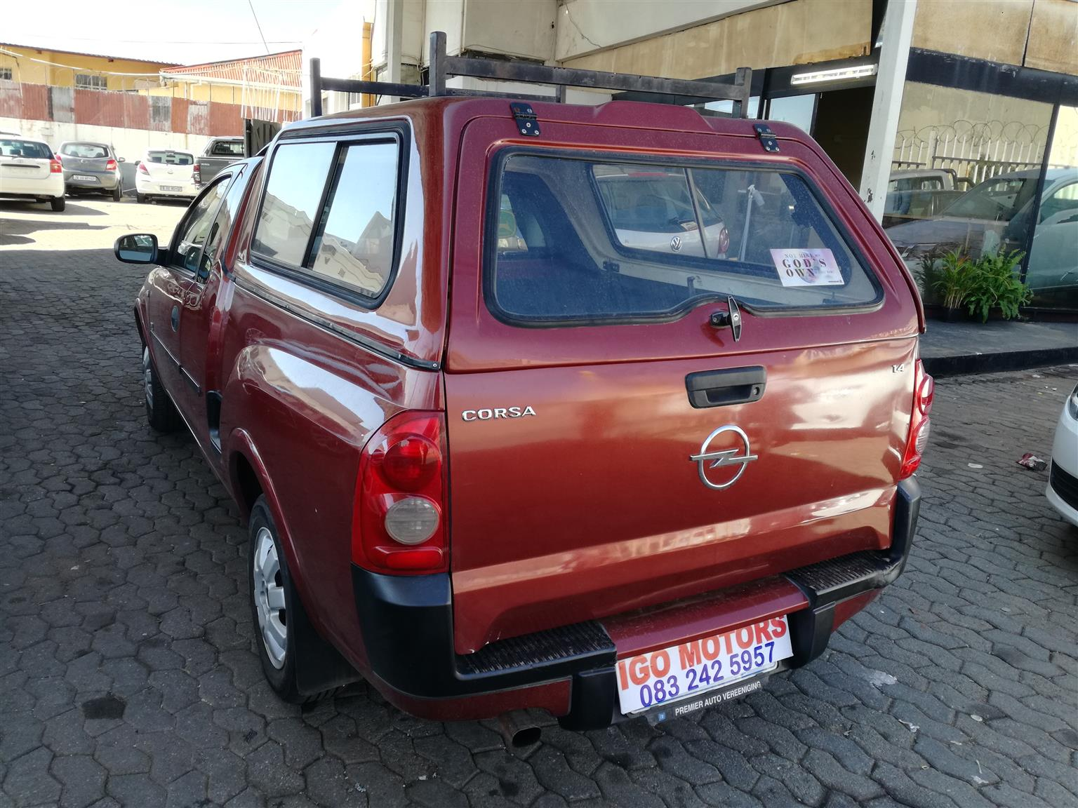 2007 Opel Corsa Utility  with Canopy