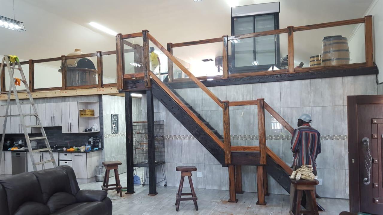 Sleeper staircase designs