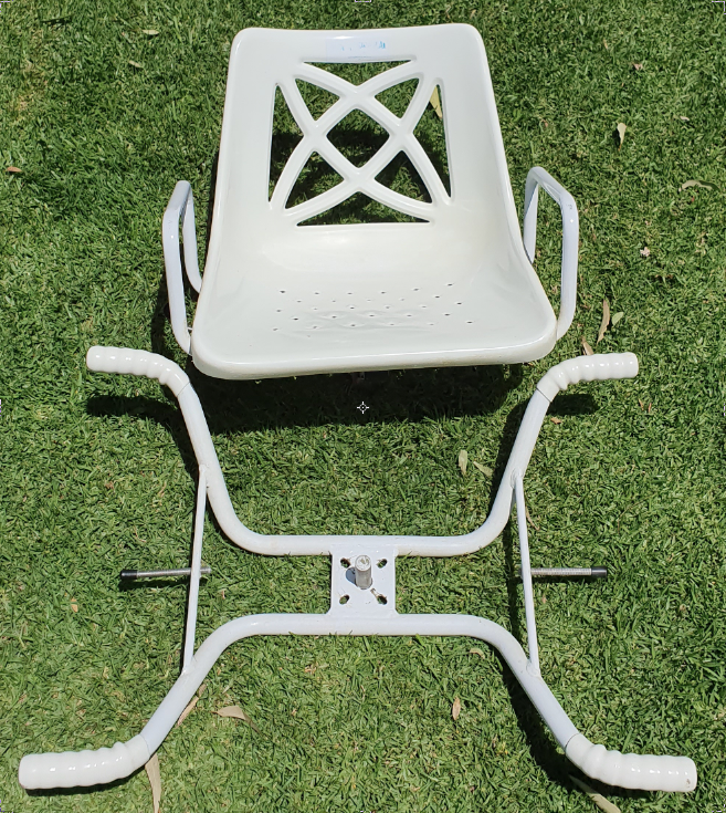 Aged or disabled bath seat