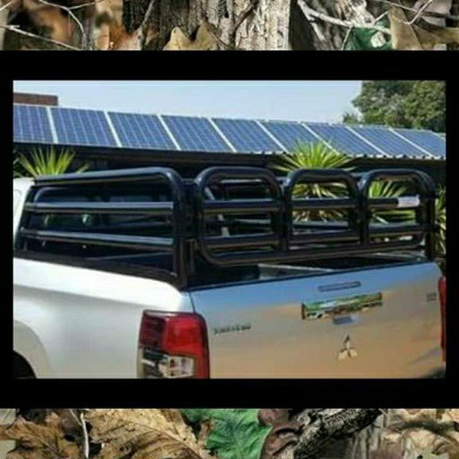 Cattle rail & Canvas Canopy