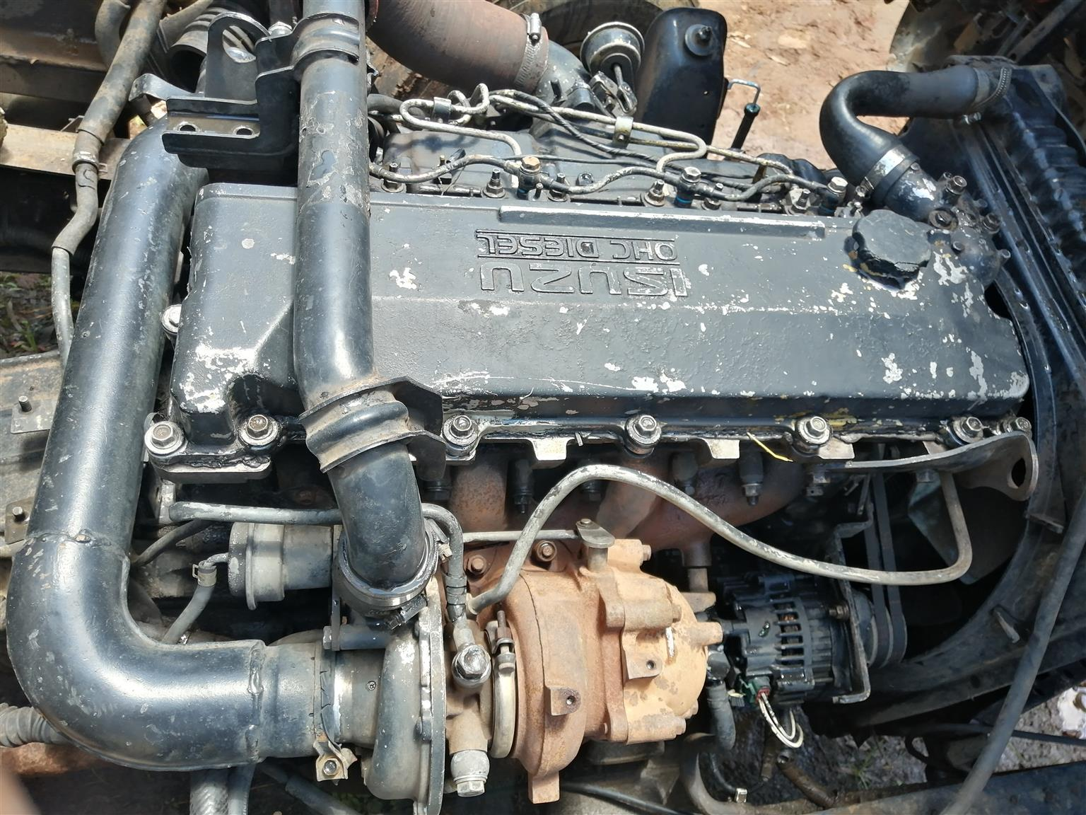 Selling isuzu npr 400 4he1 turbo engine
