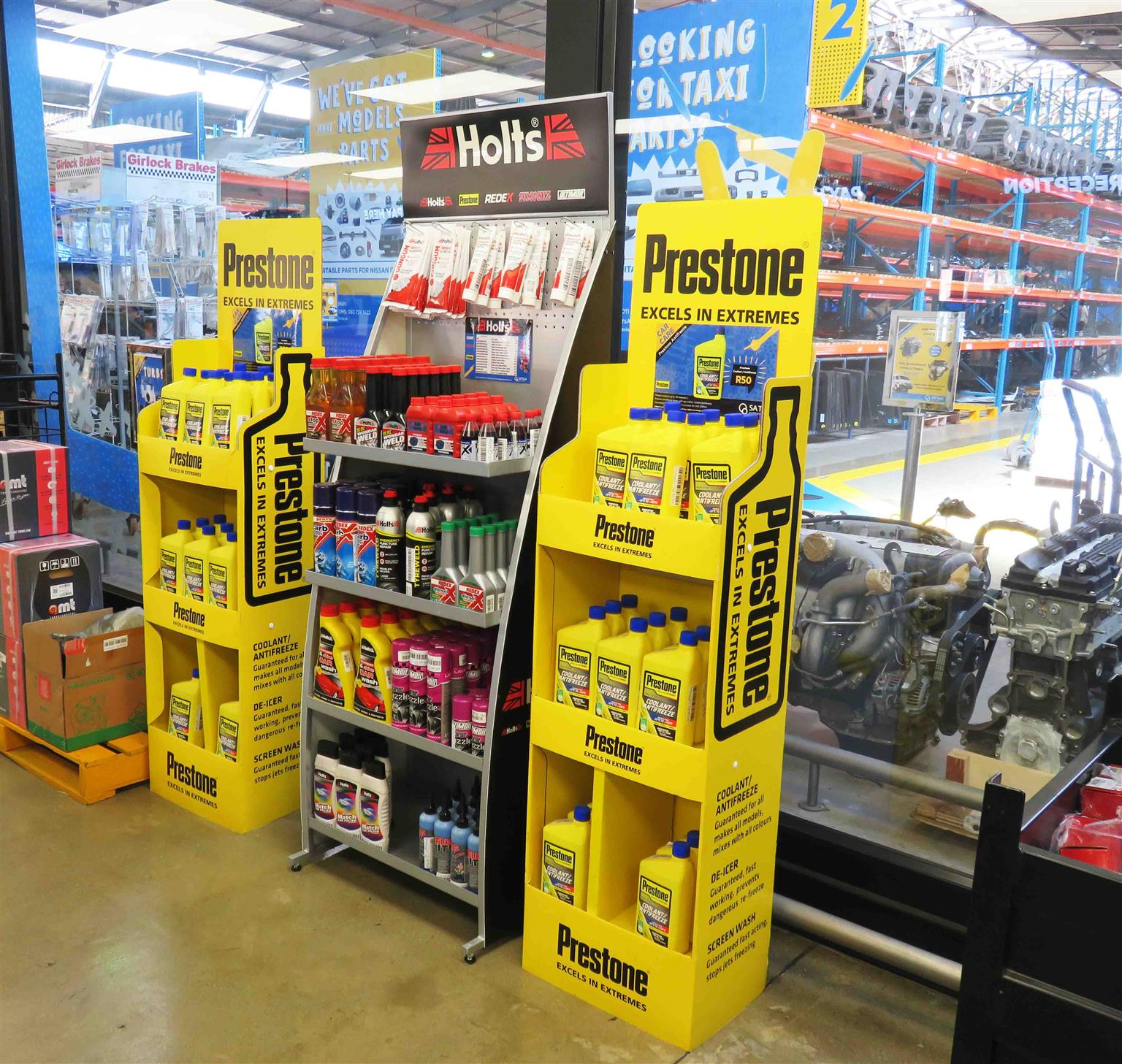 Buy your 1L Prestone Coolant / Antifreeze at SA Taxi Auto Parts - quality taxi spares