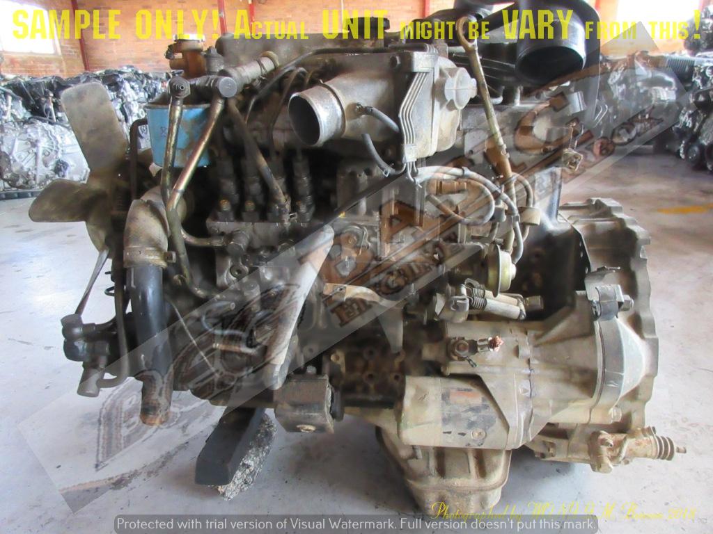 DAIHATSU DYNA -15B 4 1 TURBO DIESEL 16V Engine -TOYOTA DYNA
