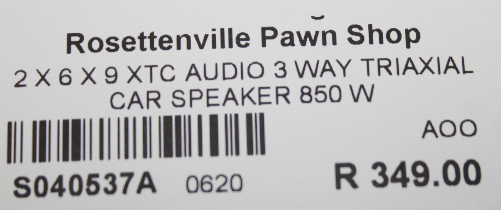 2X 6X9 xtc 850w speakers S040537A #Rosettenvillepawnshop