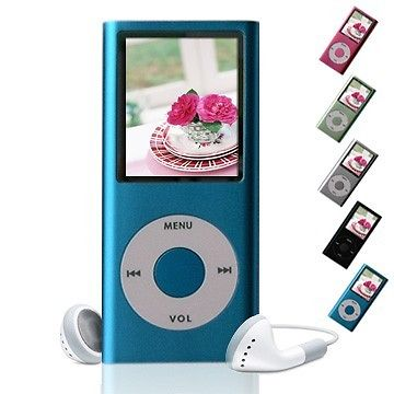 4TH GENERATION 4GB 1.8″ SLIM MP4 PLAYER
