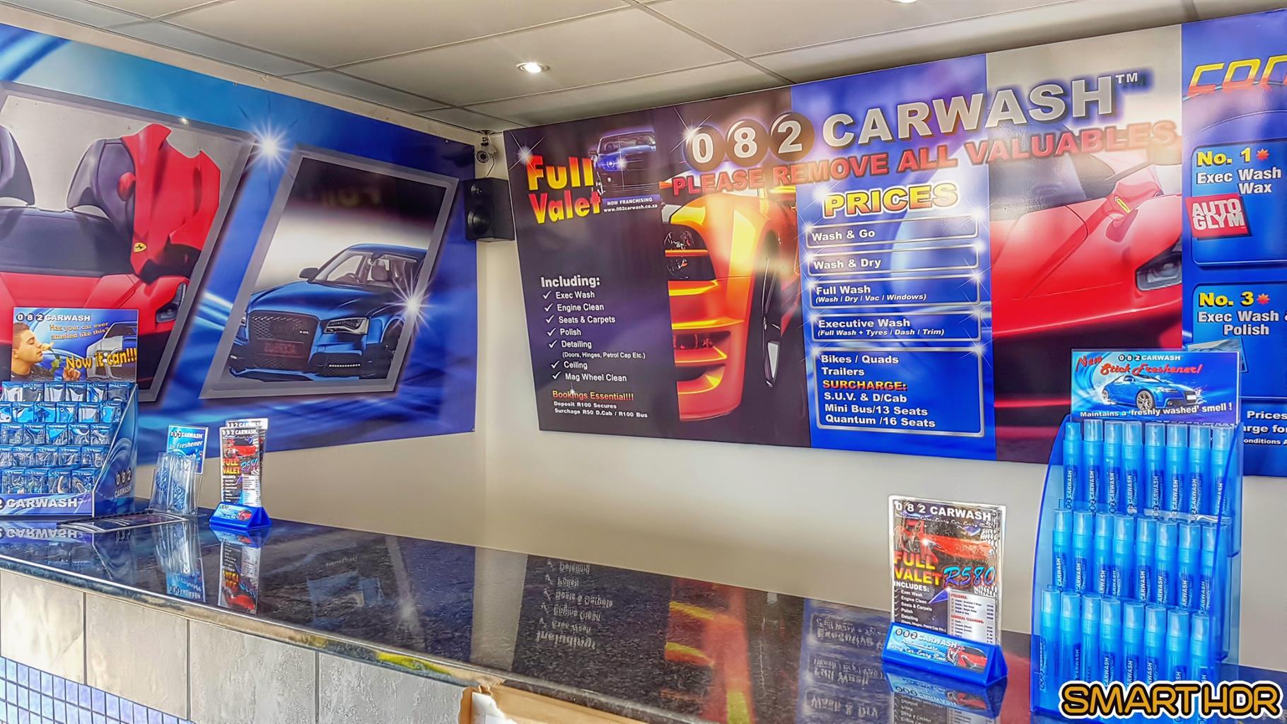 New 082CARWASH franchise to be established - Westgate area
