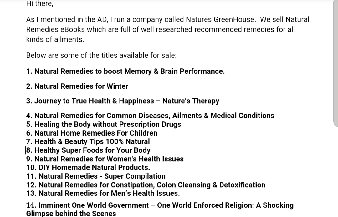 Natural Remedies ebooks Business