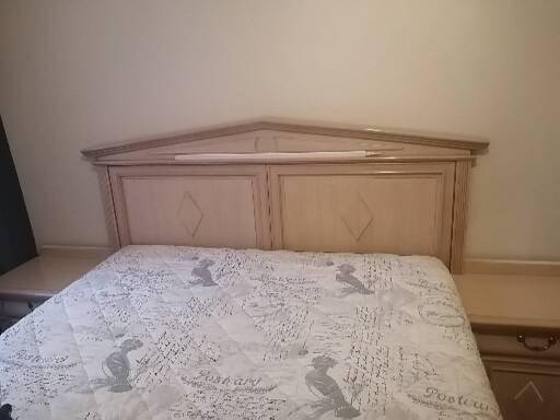 Headboard and dressing table for Sale