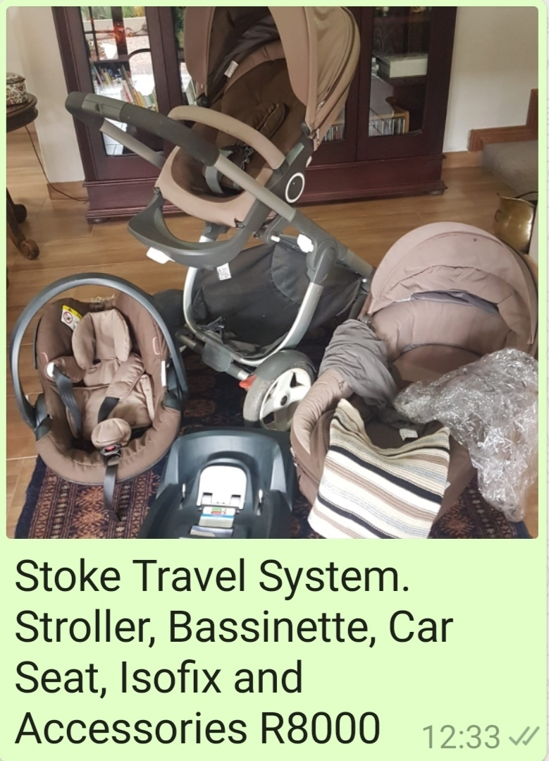 Stokke Travel Sysytem
