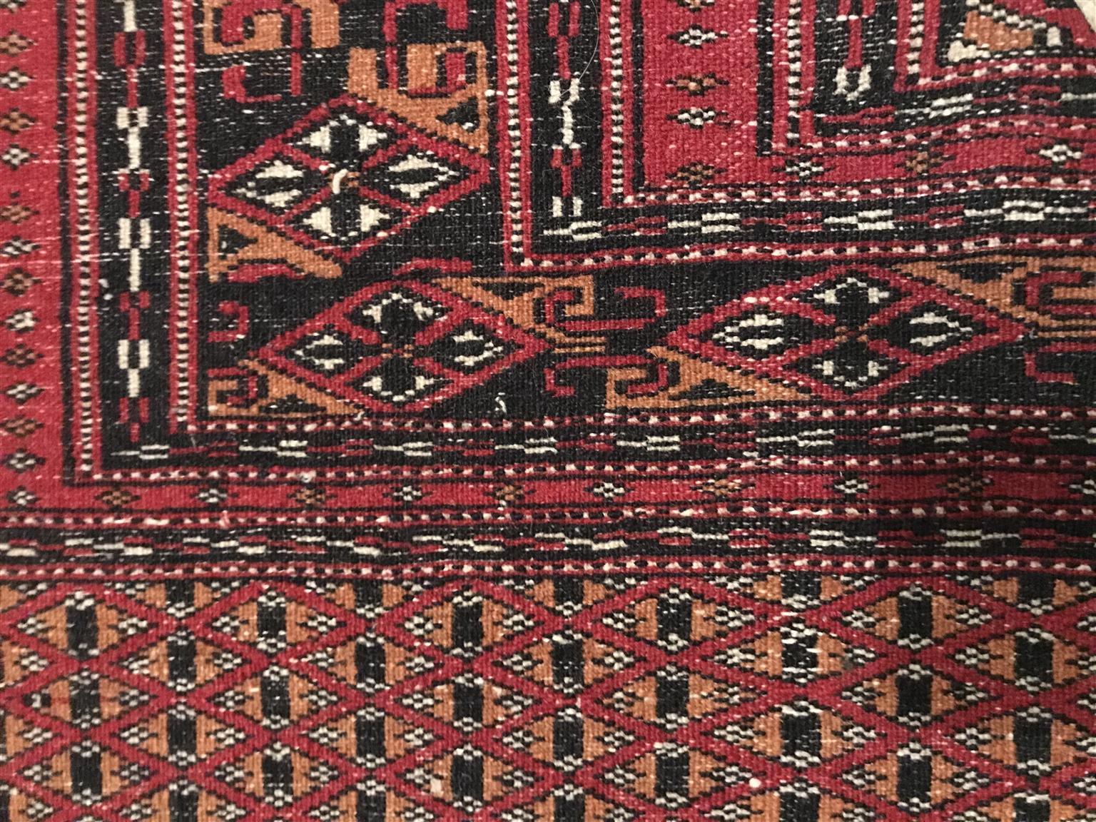 Afghan red carpet