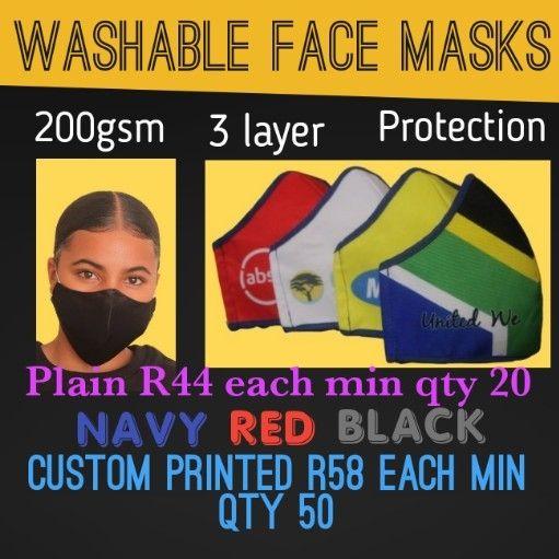 3 layer masks