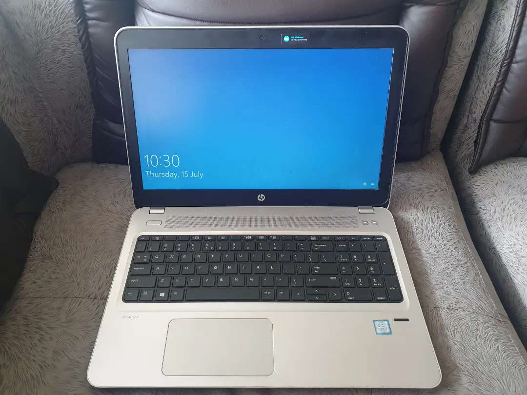 HP I3 7th Gen Laptop for sale