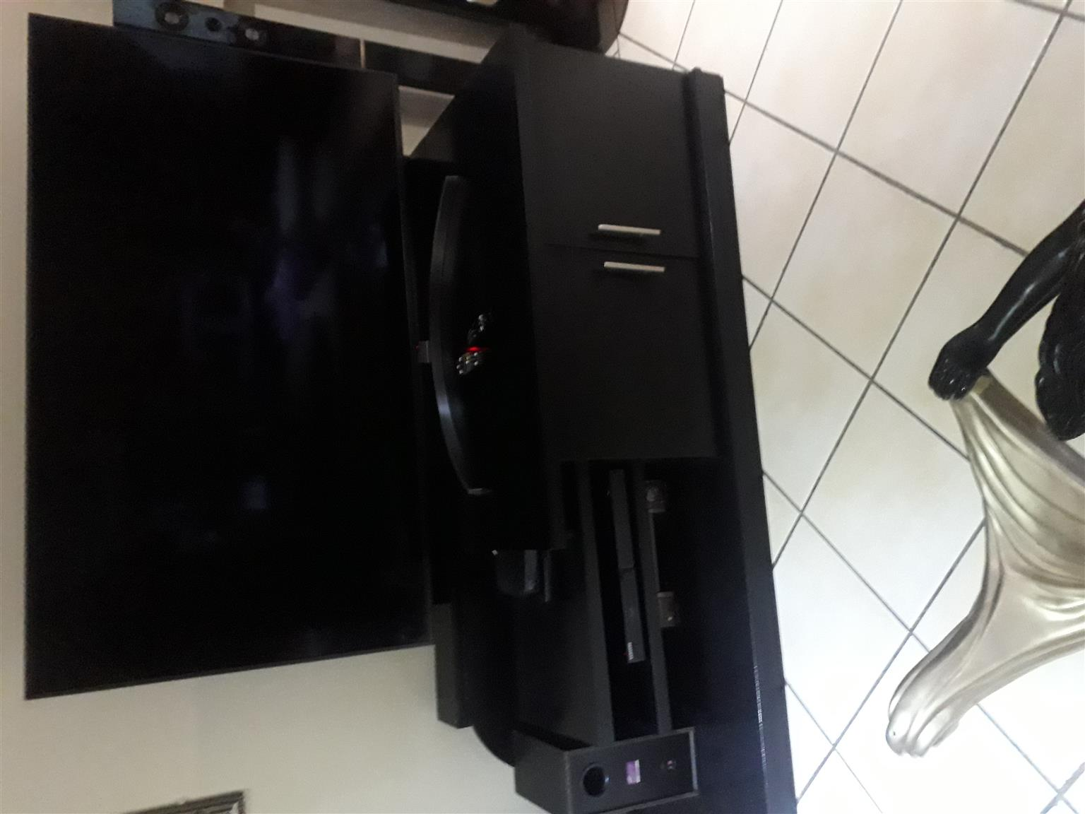Stunning wooden plasma tv stand
