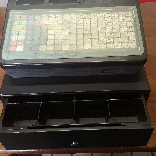 Sharp ER-A421 Cash Register till