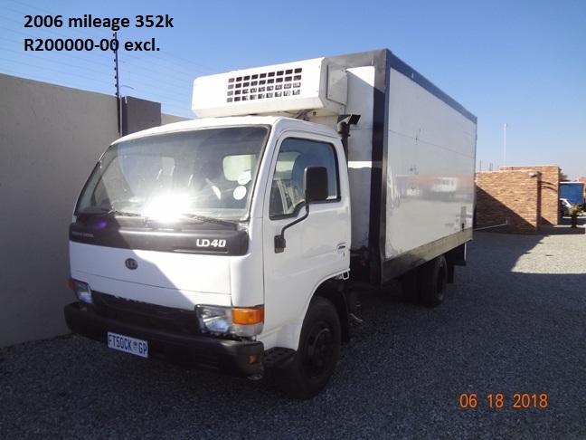 Nissan UD40 Fridge Truck