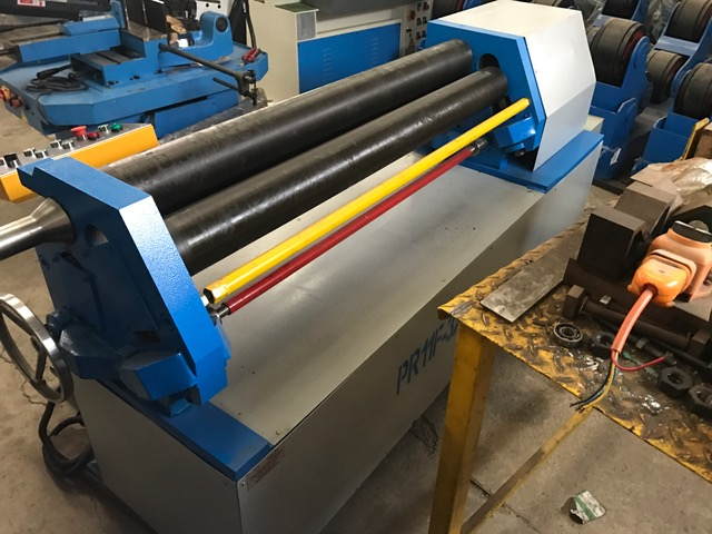 Plate Roller, Pinch Plate Roller, Cap:1300mm x 3mm, Brand New