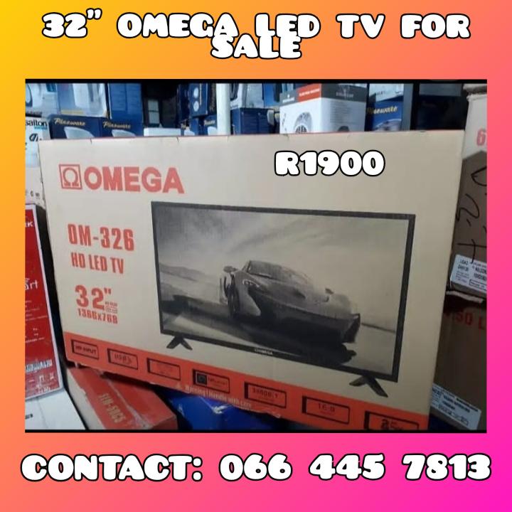 32 INCH OMEGA LED TV FOR SALE