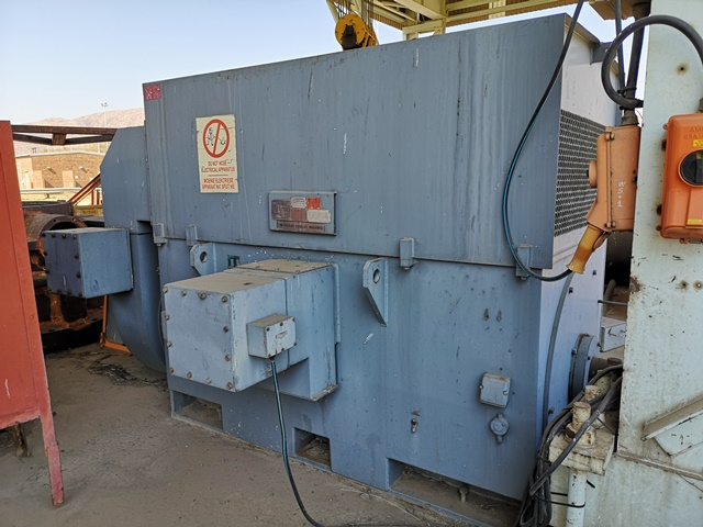 Hawker Siddeley 1 550 kW, 4 Pole, 8 600 V, Induction Motor - ON AUCTION