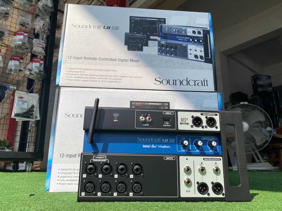 New Soundcraft Ui16 Remote-controlled Digital Mixer