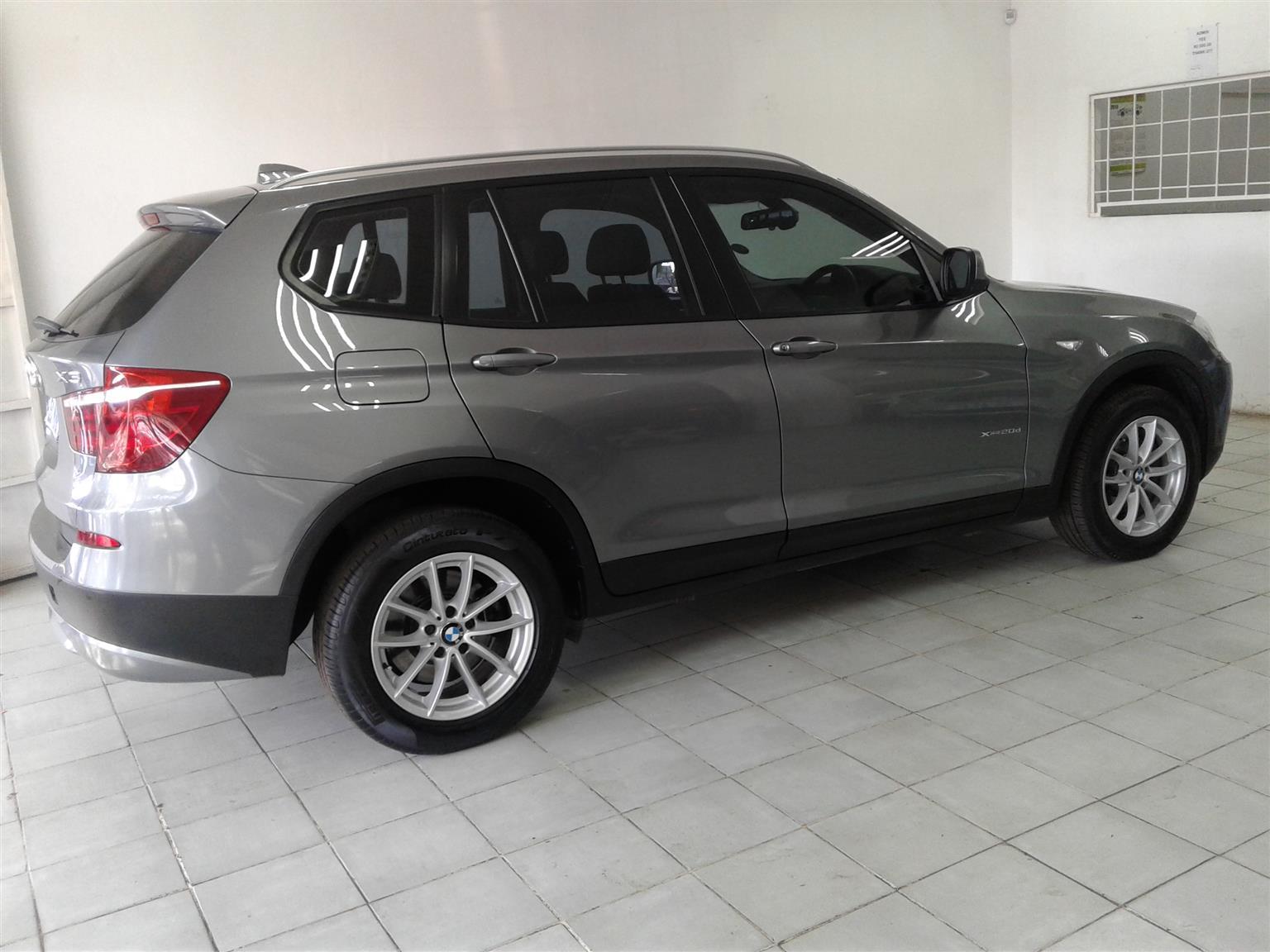 2012 BMW X3 xDrive20d auto