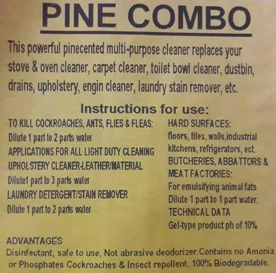 Pine Combo Multipurpose Cleaner