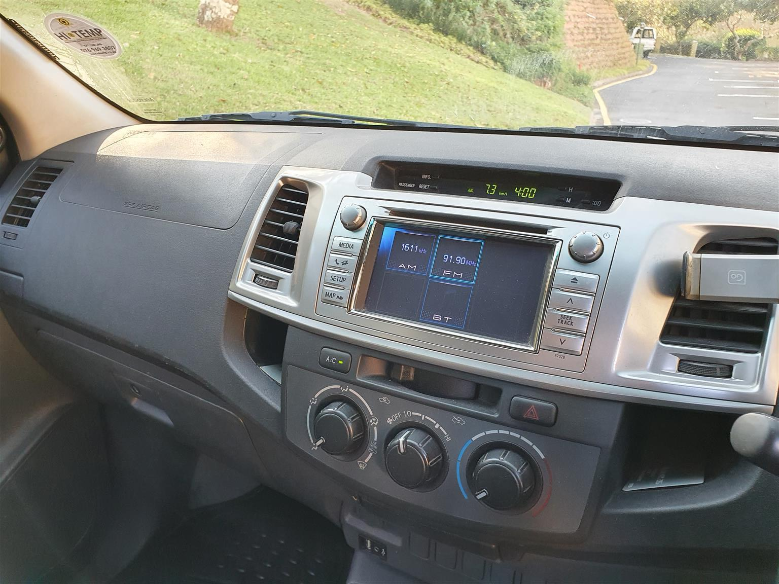 2013 Toyota Hilux 2.7 double cab Raider