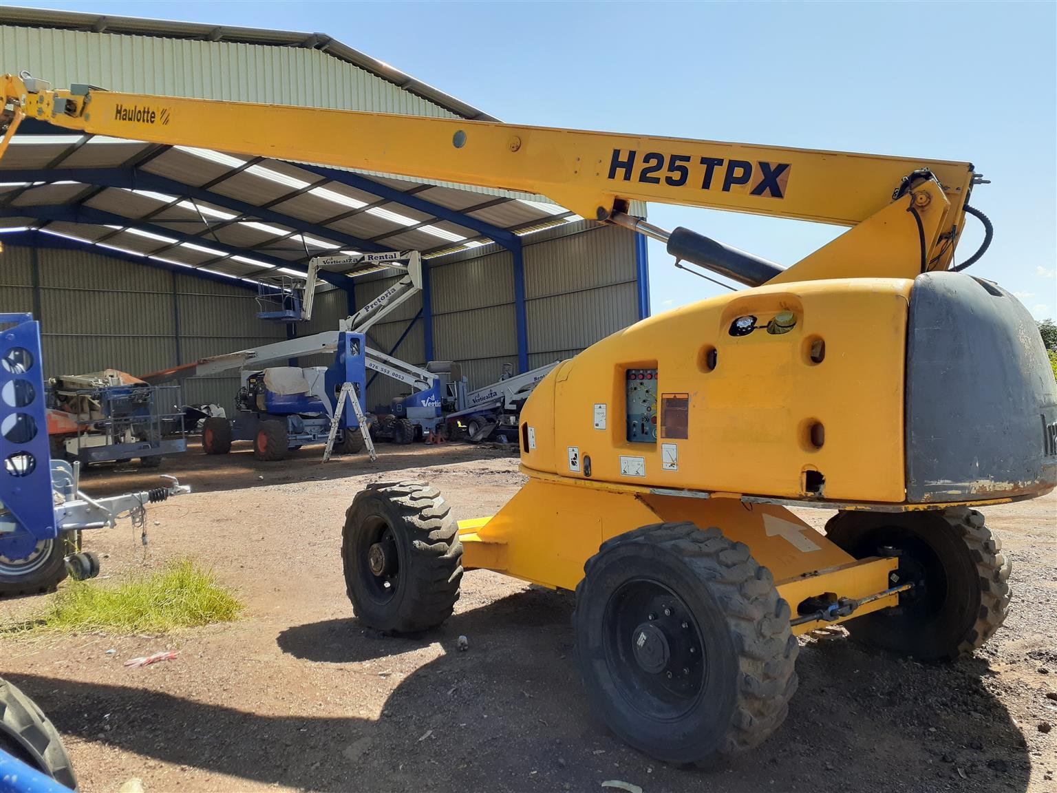 Cherry Picker FOR SALE!!! Haulotte H25TPX – 25m Boom Lift, TELESCOPIC Manlift