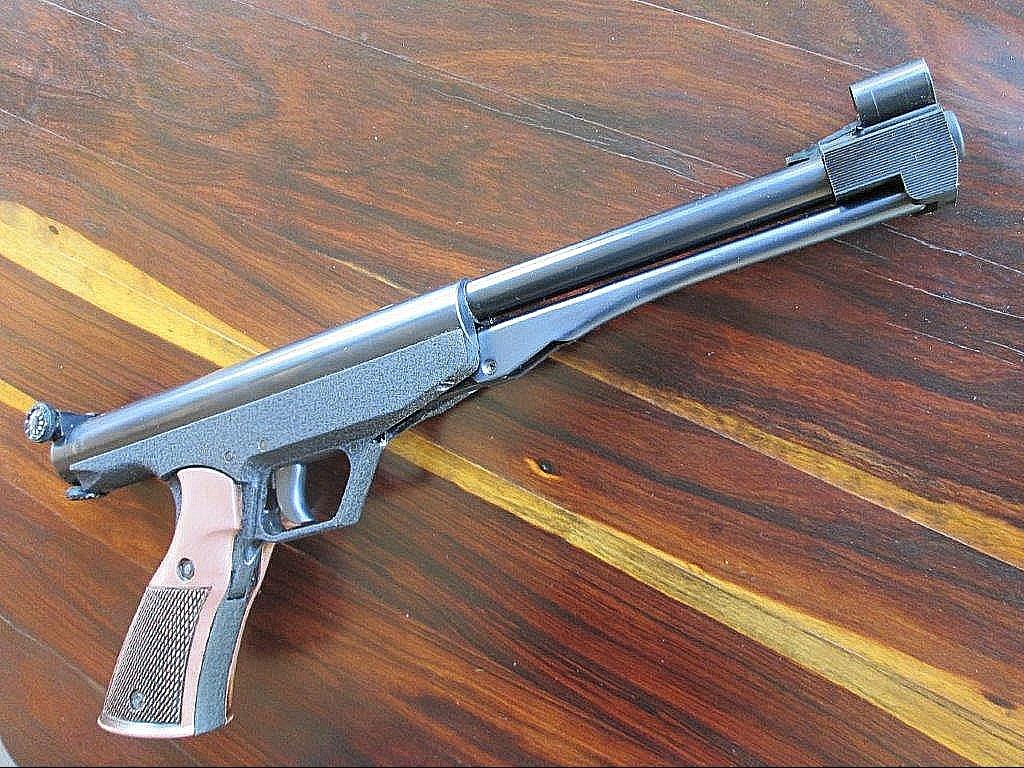 1970s Classic Falcon .177 (Gamo) air handgun underlever pellet pistol, Gecado, Falke, Diana, BSF