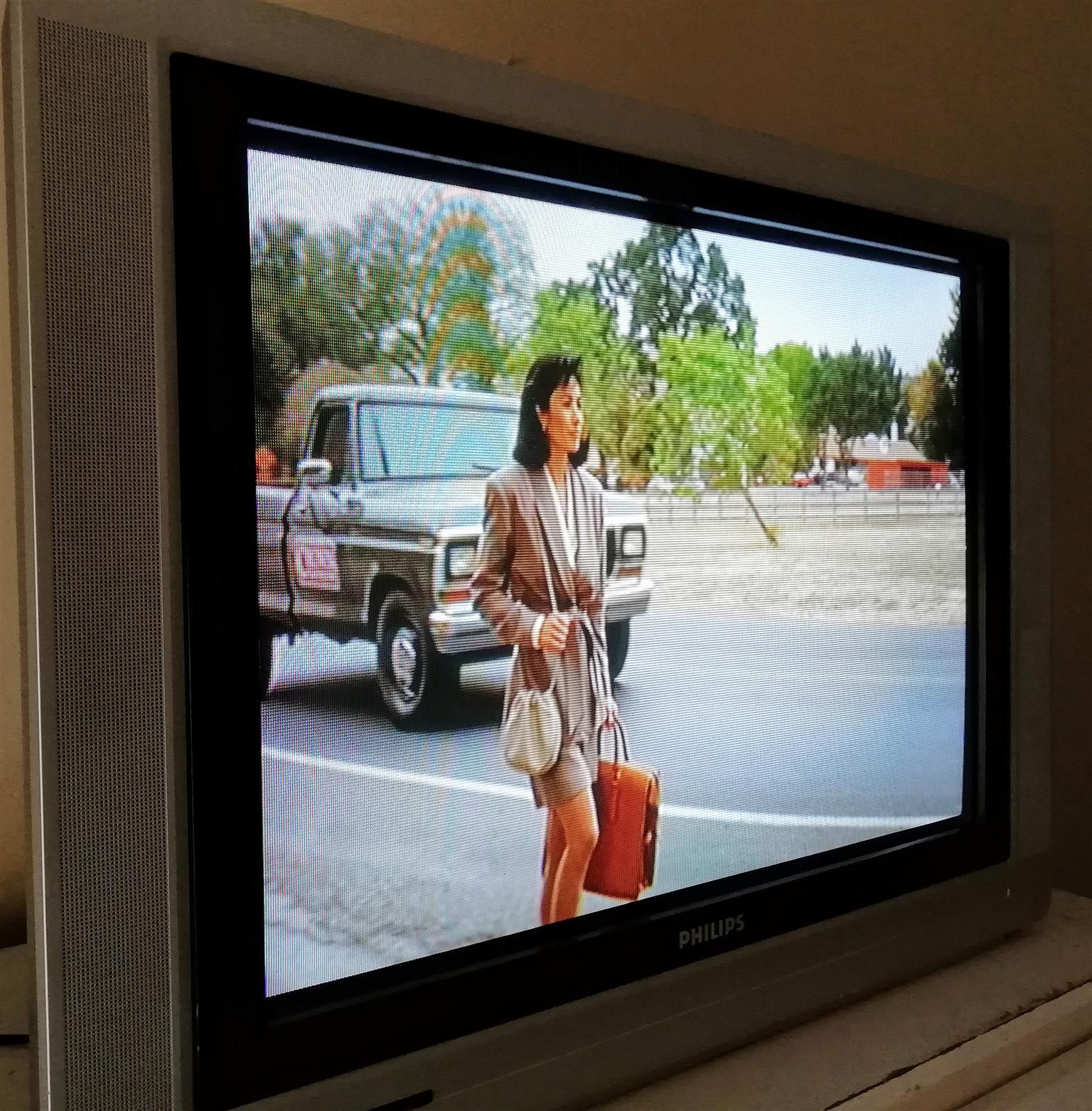74 cm Philips flat tube box type tv
